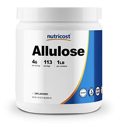 Nutricost Allulose Sweetener (1 LB) - KETO Sugar, 0 Calorie, Low Carb, Natural Sugar Alternative, Crystalline Powder