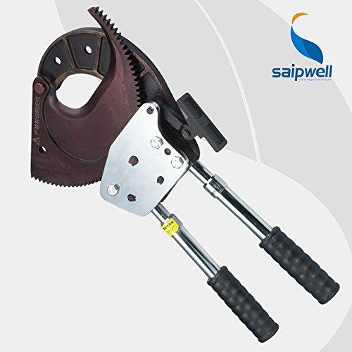 J130 130 mm² max de coupe Allemagne Motif câble de coupe Mini Motif Coupe-câbles à cliquet avec verrouillage de sécurité