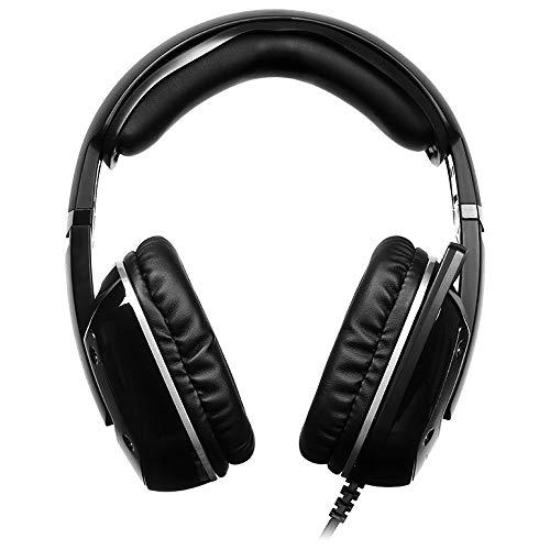 N \\ A Headset, USB-Gaming-Headset, 7.1-Stereo-Gaming-Headset mit Vibration für PC, Laptop, Videospiel mit Flexibler Mikrofonlautstärkeregelung.