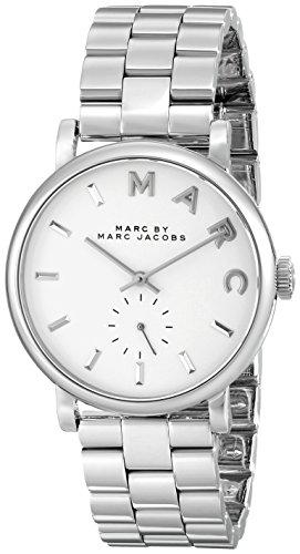 Marc by Marc Jacobs Reloj analogico para Mujer de Cuarzo con Correa en Acero Inoxidable MBM3242