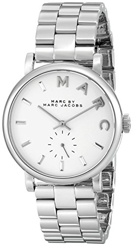 Marc Jacobs Damen-Armbanduhr Analog Quarz Edelstahl MBM3242