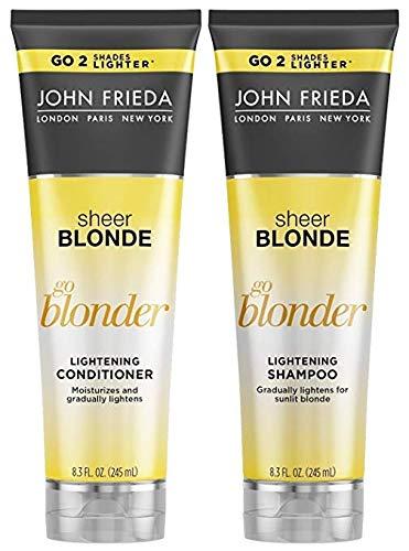 Kit Shampoo Condicionador John Frieda Go Blonder Lightening 245ml