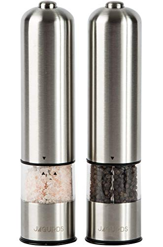 Jaguards Electric Salt and Pepper Grinder Set