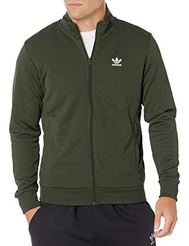 adidas Originals Hombres Essential Track Top - verde - Small