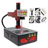 Macchina per incisione laser a fibra Macchina per incisione laser a fibra 20W Strumento per incisione laser 220V con lente 175x175mm per metallo, acrilico, pelle, PVC, ABS