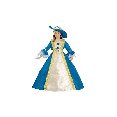 Dress up America Princess Costume Set (S, Blue) by Dress up America