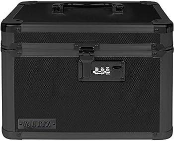 Vaultz Combination Lock Box 7.75 x 7.25 x 10 Inches Tactical Black  VZ03588