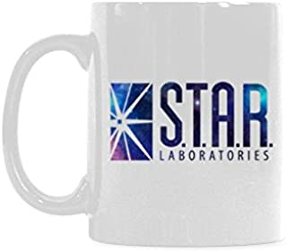 STAR LABS Coffee Mug or Tea Cup Ceramic Material Mugs White 11OZ Inspirational gifts for friends