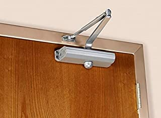 Norton 1601 Series Door Closer, Tri-Style (Regular, top jamb, or Parallel arm), Non-Handed, Size 1-6, Cast Aluminum (1601-689)