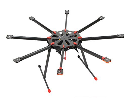 Tarot TL8X000 X8 8 Aixs Umbrella Type Folding Multicopter Octocopter Aerial Aircraft Drone UAV with Retractable Landing Gear for DIY Toy