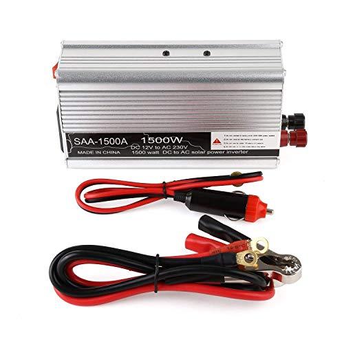1500W Auto Power Inverter DC 12V 220V / 230V AC inversor