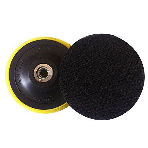 ETbotu Auto Accessoires - geschenken voor mannen, wax-polijstpad steun steun plaat voor het ophaken schuurmachine & vlokschuurpapier & zelfklevende wol bal