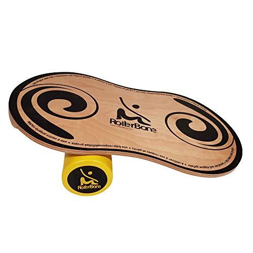 RollerBone 1.0 Classic Set - Balance Board & Balance Trainer für Fitnesstraining / Balance Boarding