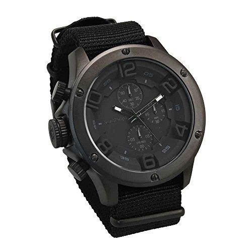 [フランテンプス] 腕時計 GAVARNIE NATO Bique ガヴァルニ クロノグラフ ナトー ビケ メンズ