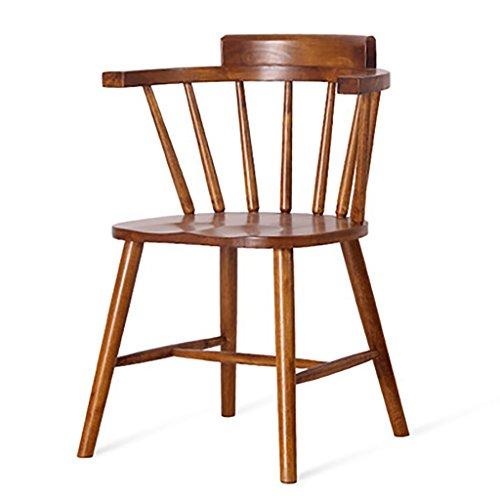 DZ Taburetes, taburetes, sillas, Silla de Comedor de Madera, Retro Simple, Nordic Hotel Cafe Chair, Respaldo de sillón, Silla de Mesa, Silla Windsor, Windsor -