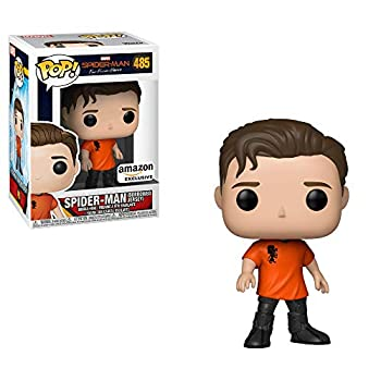 POP! Exclusive Spider-Man Far from Home #485 Spider-Man  Borrowed Jersey