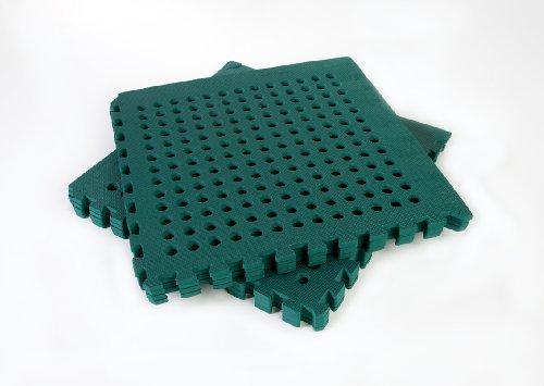 Swing Slide Play Garden Safety Green mats 32sq ft K- Easimat branded mats