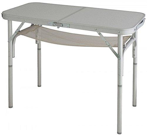 Euro trail aluminium campingtafel - stabiel - opvouwbaar met verstelbare poten + draagtas - 3,80 kg - Verdrijving door - Holly ® producten STABIELO ® - holly-sunshade ® - gepatenteerde innovaties op het gebied van mobiele universele zonnebescherming - Made in Germany -