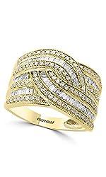 14K YELLOW GOLD DIAMOND RING WZ0Y229DD4