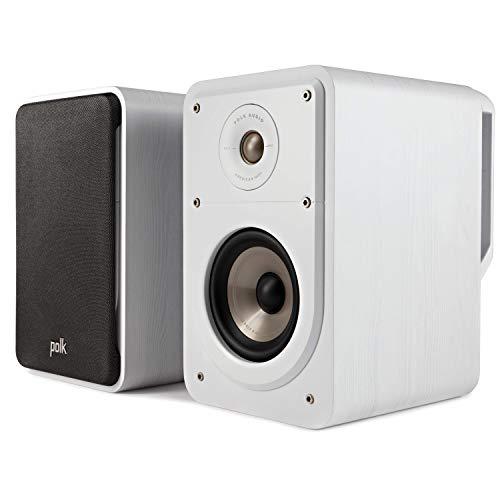 Polk Audio Signature S15E - Altavoces estéreo de Pared para música y Cine en casa, 20-100 W, 8 ohmios, 48 Hz - 40 kHz (par)