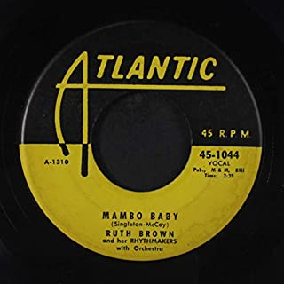 somebody touched me / mambo baby 45 rpm single