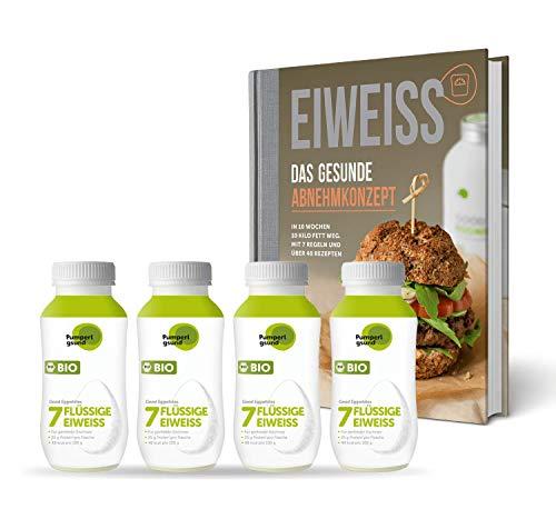 Pumperlgsund Eiweiß Diät Gesund Abnehmen (Buch plus 4 x Bio-Eiweiß)