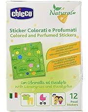 Chicco Cerotti Sticker Colorati e Profumati alla Citronella, multicolore