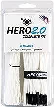 ECD Lacrosse East Coast Dyes Hero2.0 Complete Kit Semi-Soft Lacrosse Mesh White