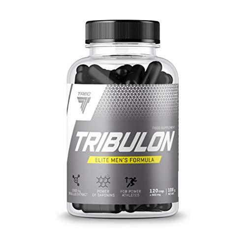 Trec Nutrition Tribulon   Testosteron-Booster für Männer   Tribulus Terrestris   Libido-Unterstützung   Nahrungsergänzungsmittel   Anabol (120 Kapseln)