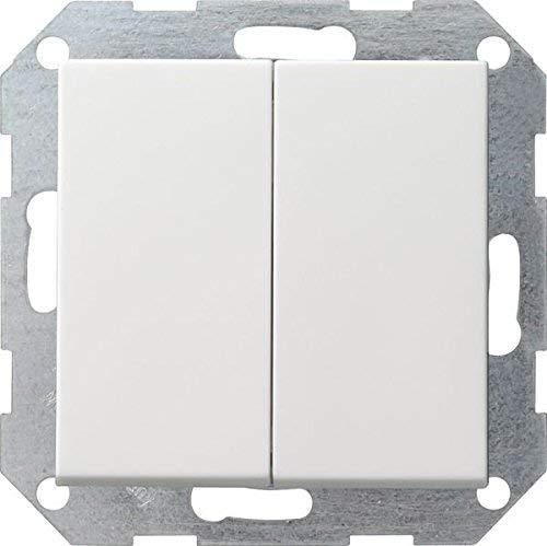 Gira 012503 Tastschalter Serien System 55, reinweiß