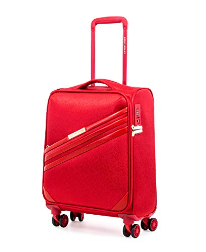 DKNY Valencia Softside Spinner Gepäck mit TSA-Schloss, rot (Rot) - DT118VL7