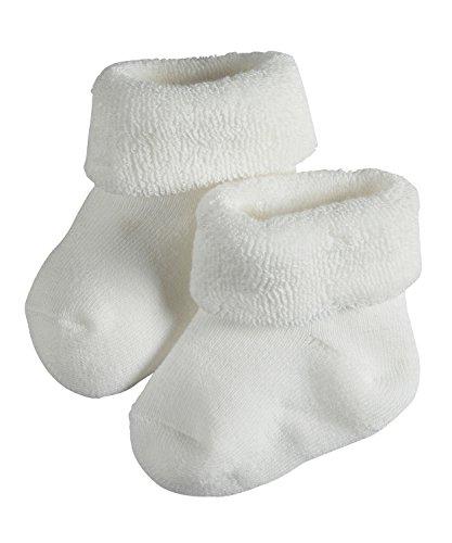 FALKE Baby Socken Erstling - 89% Baumwolle, 1 Paar, Weiß (White 2000), Größe: 62-68