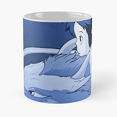 Satsuki Anime Haku My Ghibli Neighbour Mai Totoro Studio - Best 11 oz Kaffeebecher - Nespresso Tassen Kaffee Motive