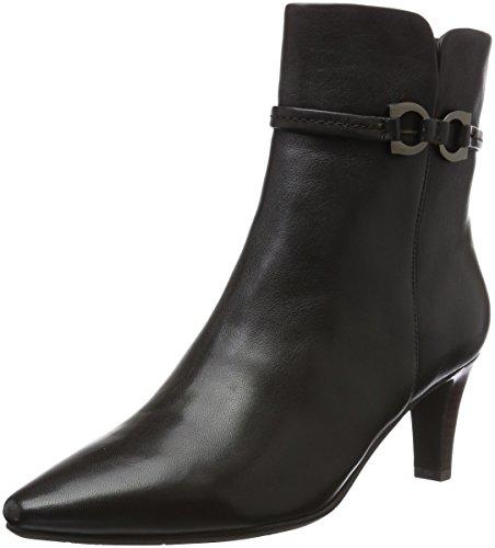 Tizian Damen LB65920A-6 Kurzschaft Stiefel, Braun (braun), 39 EU
