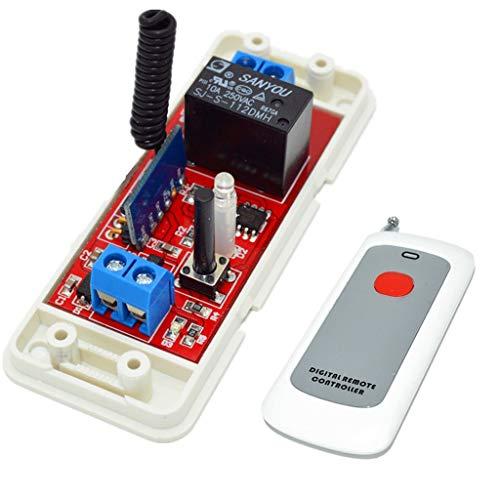LKK-KK 12V RF del Interruptor de Control Remoto con el módulo Receptor ampliamente utilizados en Control Industrial y Campos