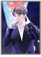 韓国のKPOPボーイグループBTS ﹣数字キットによるDIYダイヤモンド絵画﹣5Dフルラウンドドリルダイヤモンド絵画キット刺繡芸術家の装飾 40X50cm