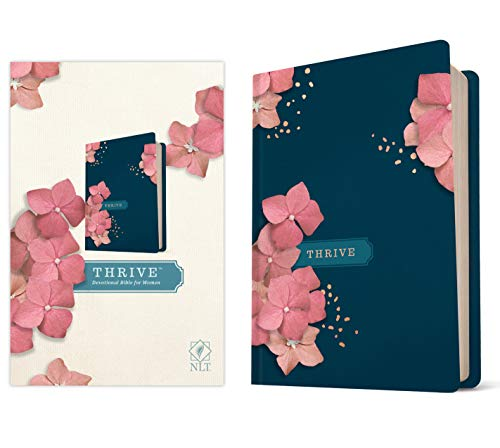 Compare Textbook Prices for NLT THRIVE Devotional Bible for Women Hardcover  ISBN 9781496448255 by Tyndale,Shepherd, Sheri Rose