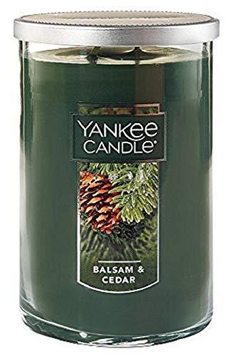 Yankee candles co., Balsam & Cedar 2-Wick Large Tumbler,Festive Scent