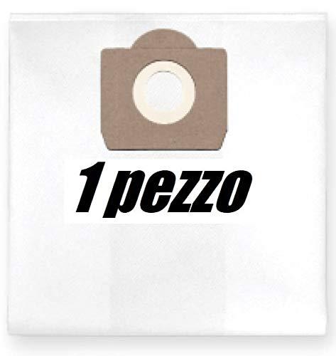NIKOSbags 1x Sacchetto per aspirapolvere in Tessuto con Cerniera, Riutilizzabile per Portotecnica Mirage 1515