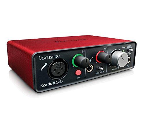 FocusriteInterfaccia audio Scarlett Solo, con attacco USB 2.0