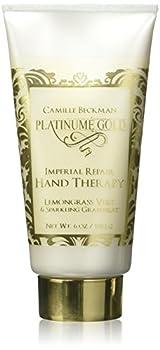 Camille Beckman Platinume Gold Imperial Repair Hand Therapy Lemongrass Vert & Sparkling Grapefruit 6 oz