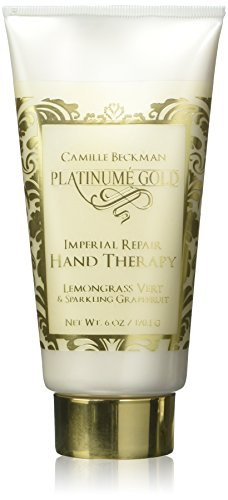 Camille Beckman Platinume Gold Imperial Repair Hand Therapy, Lemongrass Vert & Sparkling Grapefruit, 6 oz