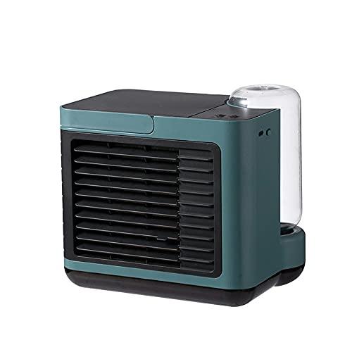 Purificación de aire acondicionado recargable de la velocidad del viento del engranaje del ventilador tres del aire de la ión negativa del USB bajo ruido para la oficina en casa