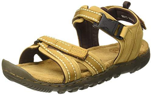 Woodland Men's Gd 2665117 Camel Sandal-10 UK (44 EU) (Leather)