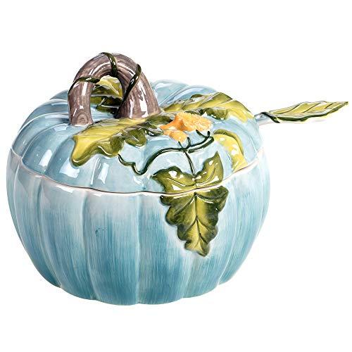 Certified International Harvest Gatherings Pumpkin Tureen With Ladle, Multicolor