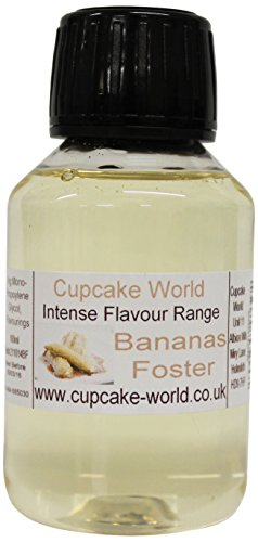 Cupcake World Aromas Alimentarios Intenso Plátanos Al Estilo Foster - 100 ml