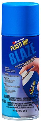 Plasti Dip Performix 11219 Blaze Blue Multi-Purpose Rubber Coating Aerosol - 11 oz.