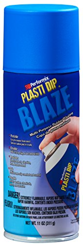 Performix Plasti Dip Sprühdose Sprühfolie Flüssiggummi Spraydose Blaze Blau - 400 ml - Original USA Produkt