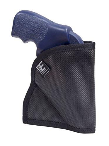 """Elite Survival Systems Pocket Holster for Ruger LCR & 2"""" J Frame Revolvers W/Laser PH-3L Pocket Holster for Ruger LCR & 2"""" J Frame Revolvers W/Laser Black, 3L"""