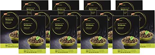 tegut... vom Feinsten Wildreis 13er Pack - kräftig und nussig - schwarze Reis Körner - Ballaststoffreich Gourmetgenuss im Vorteilspack 13 x 250 g